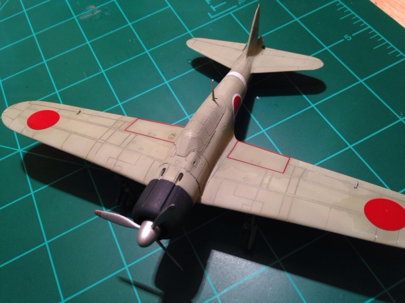 Airfix 1/72 A6M2 model 21 ZeroContinued