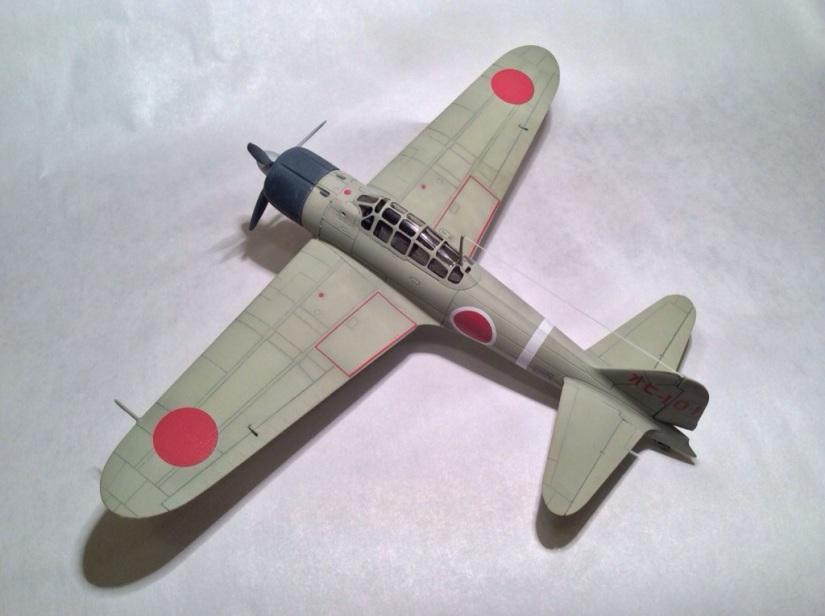 Airfix 1/72 A6M2 Model 21 ZeroFinished