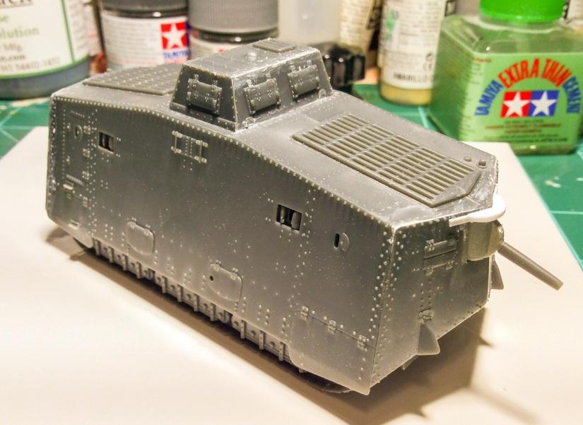 Emhar Sturmpanzerwagen A7V1/72