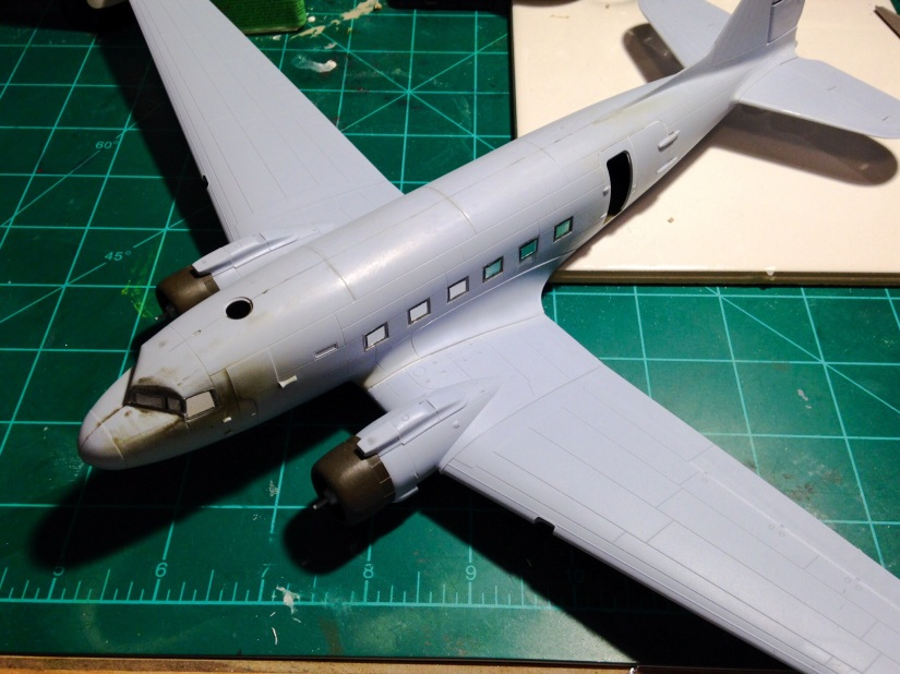 Modeling 1LT Winter's D-Day C-47 from Band of Brothers