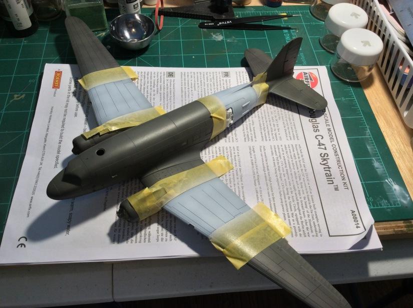 Modelling 1LT Winters D-DayC-47